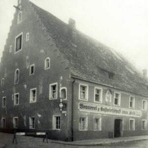 """Wirtshaus und Biergarten """"Zum Geiss"""" in Straubing"""